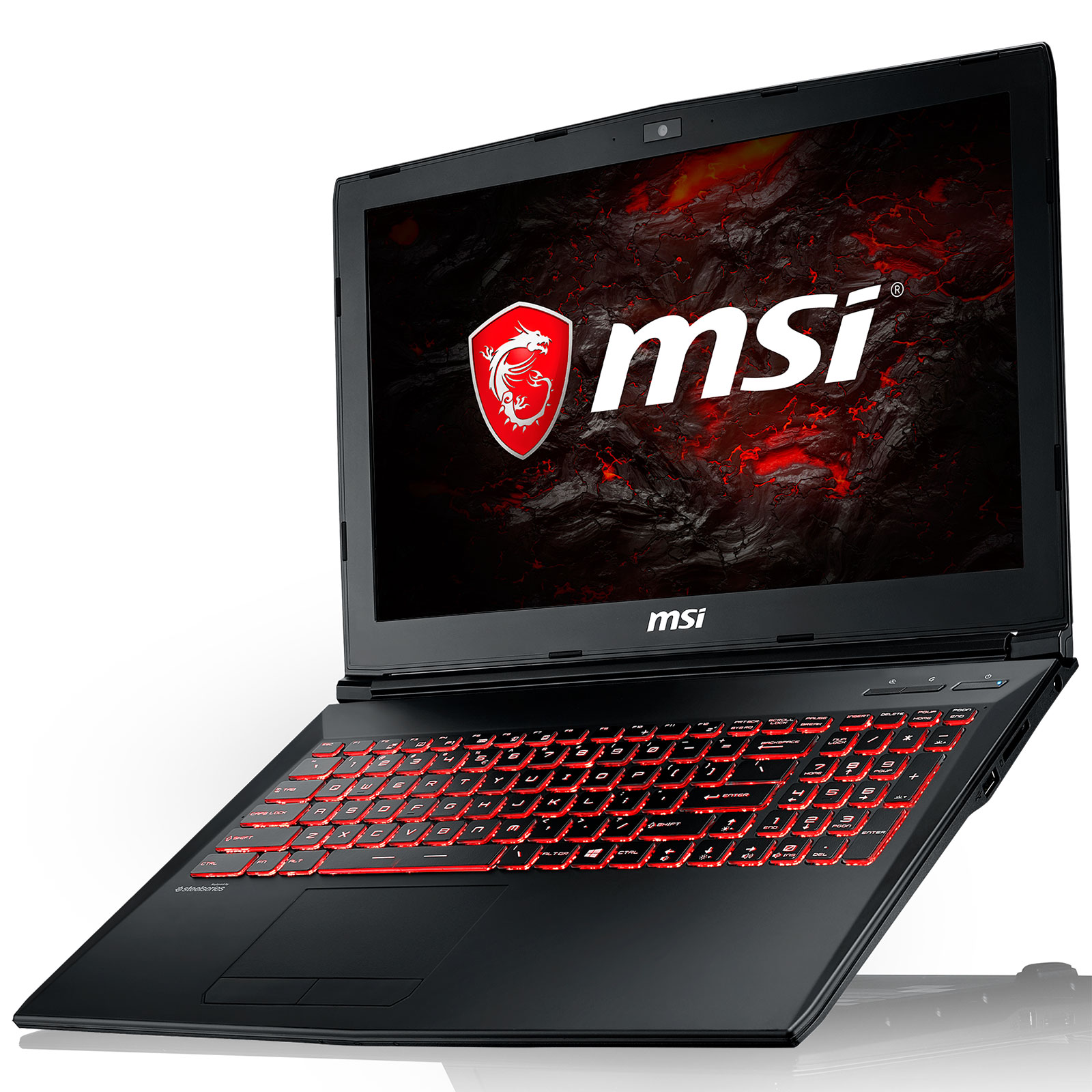 "PC portable MSI GL62M 7RDX-2231FR Intel Core i5-7300HQ 8 Go SSD 128 Go + HDD 1 To 15.6"" LED Full HD NVIDIA GeForce GTX 1050 4 Go Wi-Fi AC/Bluetooth Webcam Windows 10 Famille 64 bits (garantie constructeur 2 ans)"