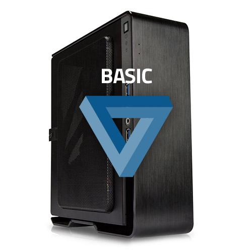 PC de bureau PC HardWare.fr Basic - Monté (sans OS) Mini PC Celeron G3930, 4 Go de DDR4, SSD 250 Go