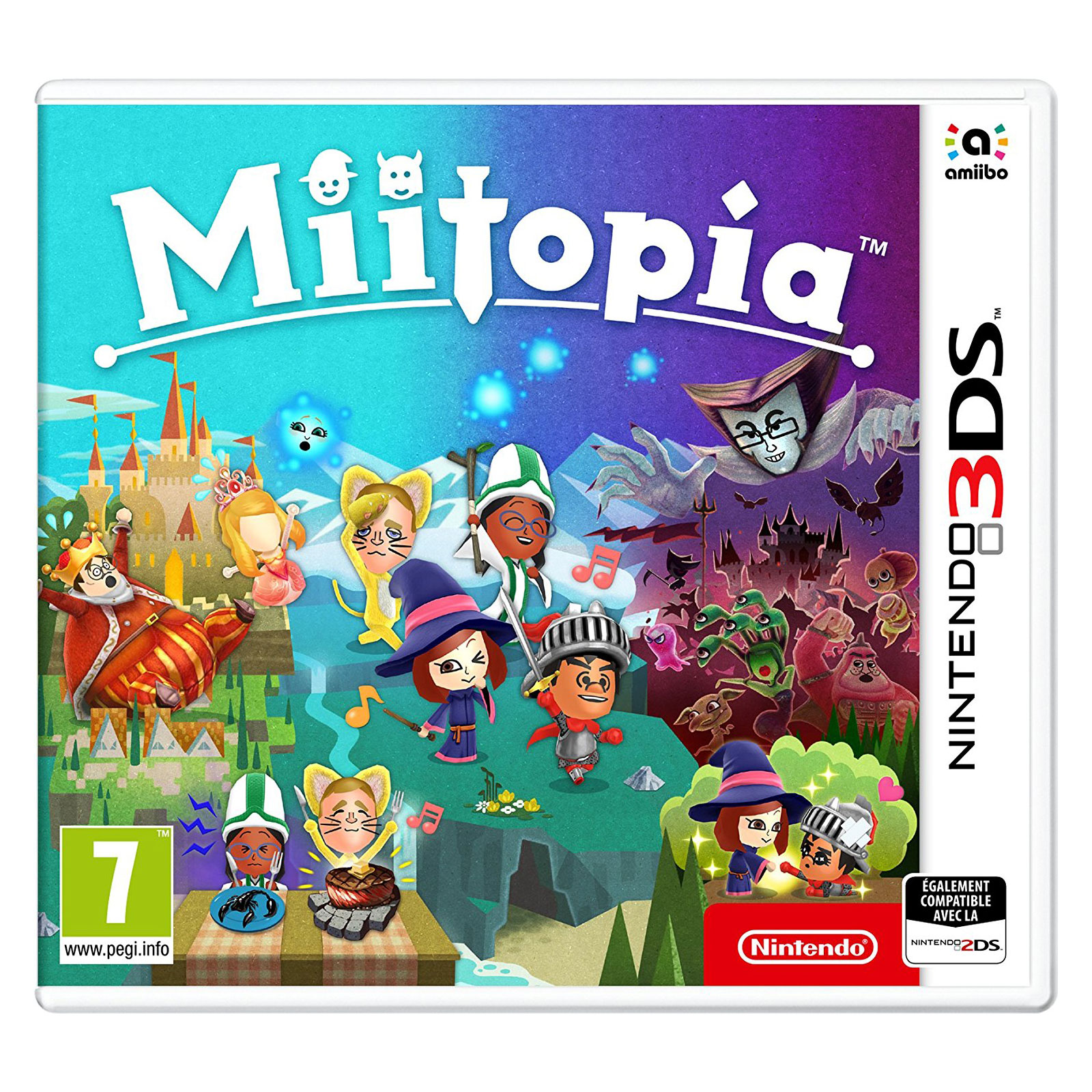 miitopia nintendo 3ds 2ds jeux nintendo 3ds nintendo sur. Black Bedroom Furniture Sets. Home Design Ideas