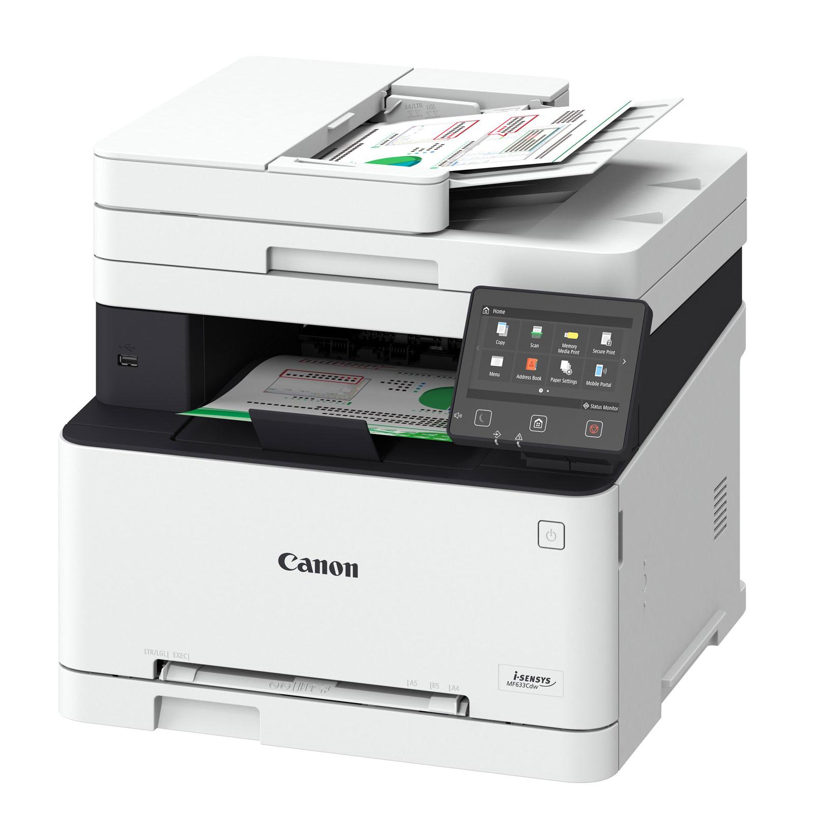 canon i sensys mf633cdw imprimante multifonction canon. Black Bedroom Furniture Sets. Home Design Ideas