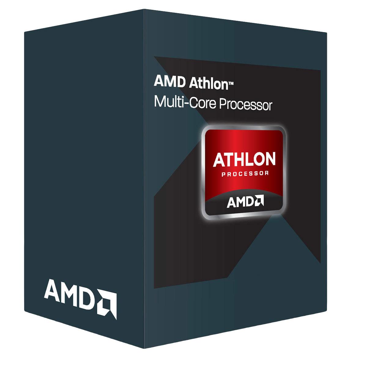 Processeur AMD Athlon X4 950 (3.5 GHz) Processeur Quad Core socket AM4 Cache L2 2 Mo 0.028 micron TDP 65W (version boîte - garantie constructeur 3 ans)