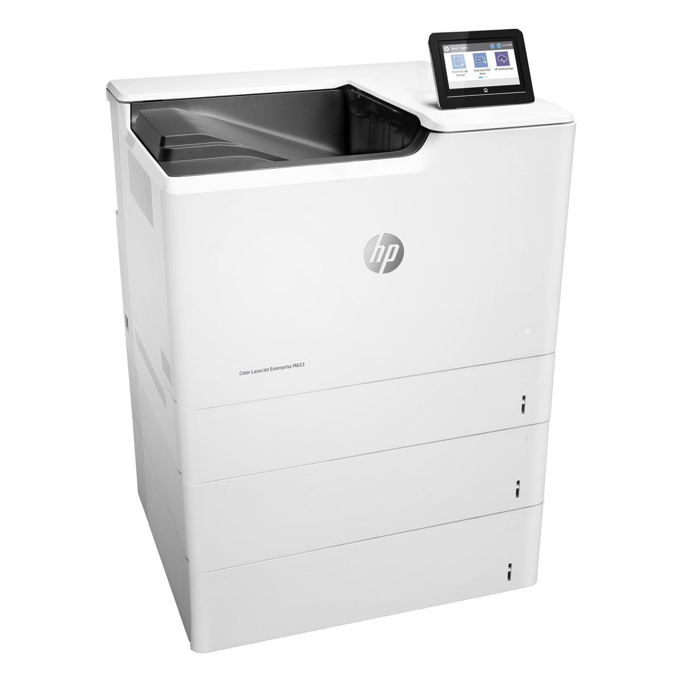 hp color laserjet enterprise m653x imprimante laser hp sur. Black Bedroom Furniture Sets. Home Design Ideas