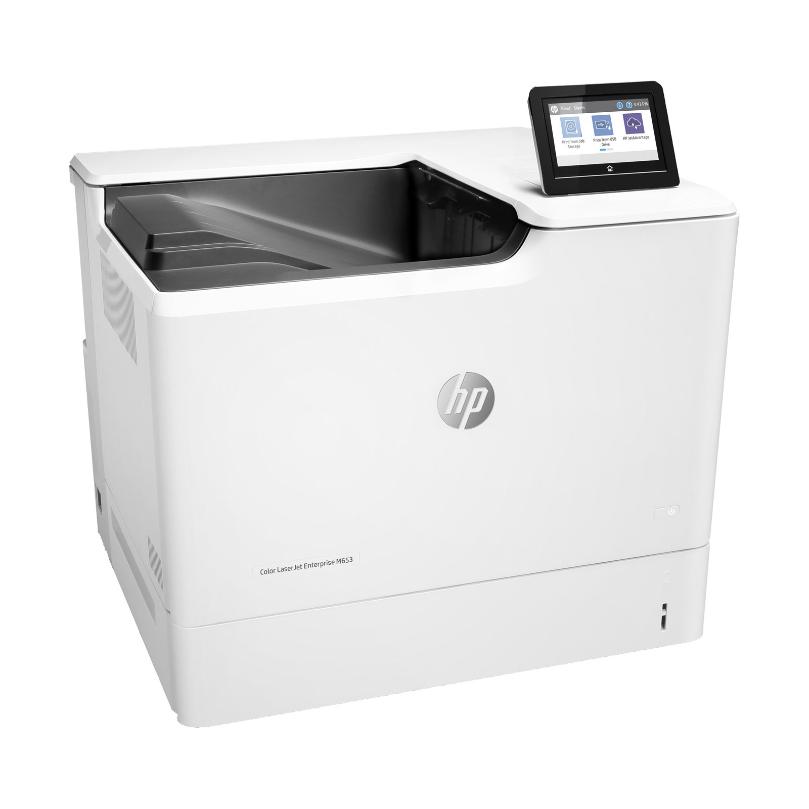 hp color laserjet enterprise m653dn imprimante laser hp sur. Black Bedroom Furniture Sets. Home Design Ideas