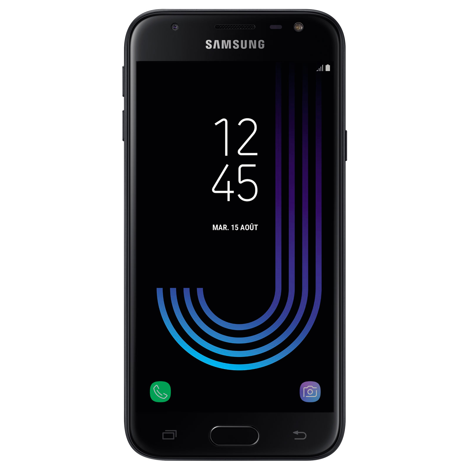 samsung galaxy j3 2017 noir mobile smartphone samsung sur. Black Bedroom Furniture Sets. Home Design Ideas