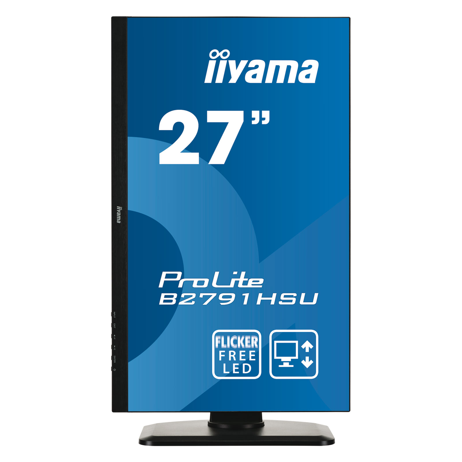 Iiyama 27 led b2791hsu b1 ecran pc iiyama sur for Ecran photo 24 ou 27