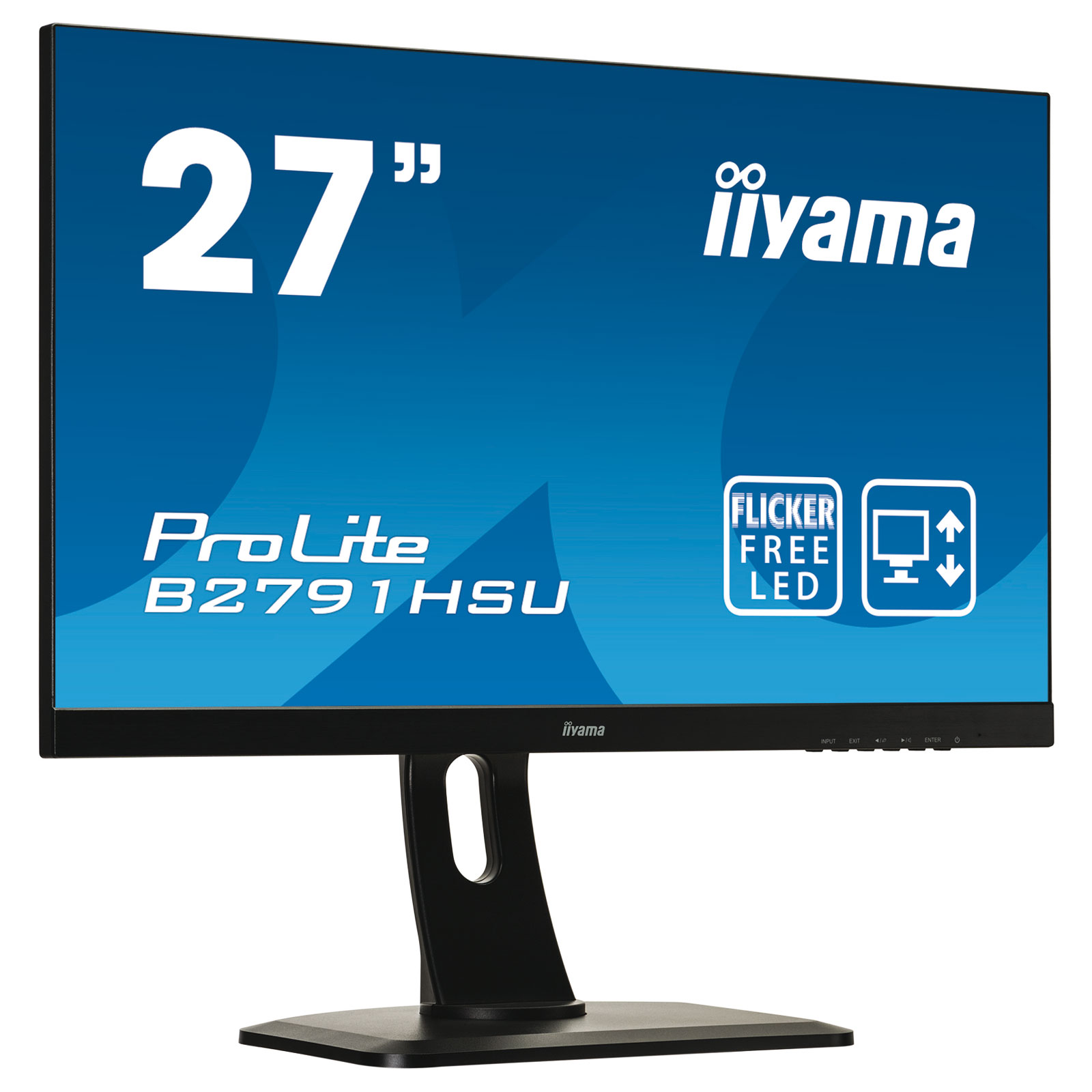 iiyama 27 led b2791hsu b1 ecran pc iiyama sur. Black Bedroom Furniture Sets. Home Design Ideas