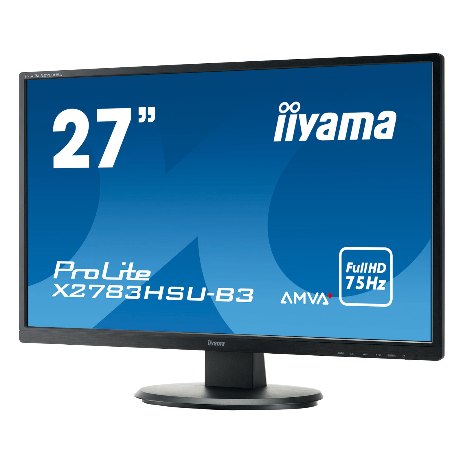 iiyama 27 led prolite x2783hsu b3 ecran pc iiyama sur. Black Bedroom Furniture Sets. Home Design Ideas