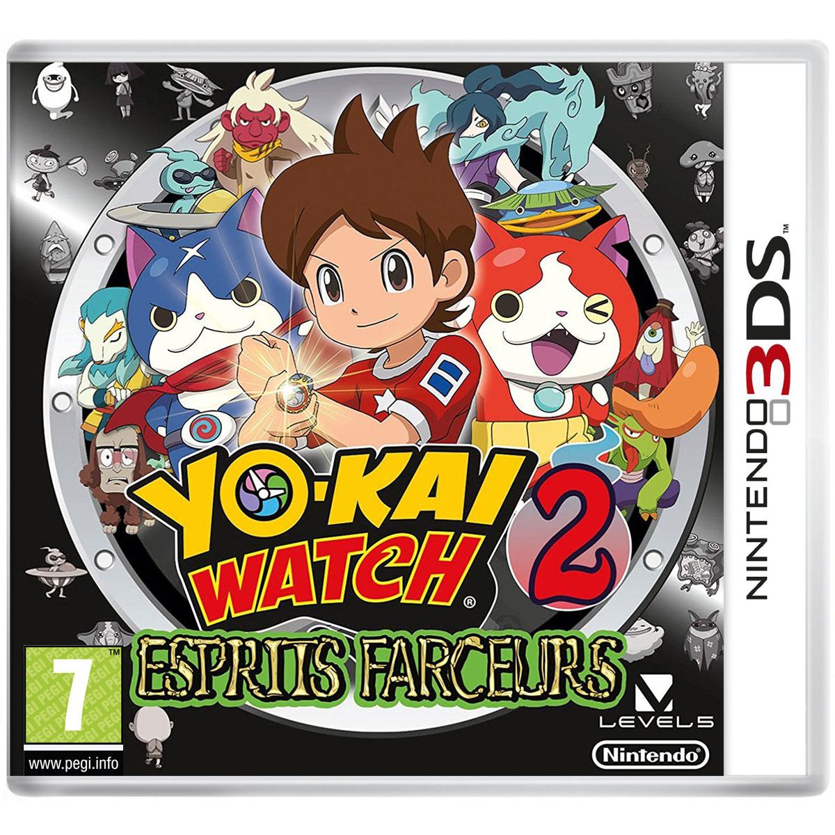 Jeux Nintendo 3DS Yo-Kai Watch 2 : Esprits Farceurs (Nintendo 3DS) Yo-Kai Watch 2 : Esprits Farceurs (Nintendo 3DS)