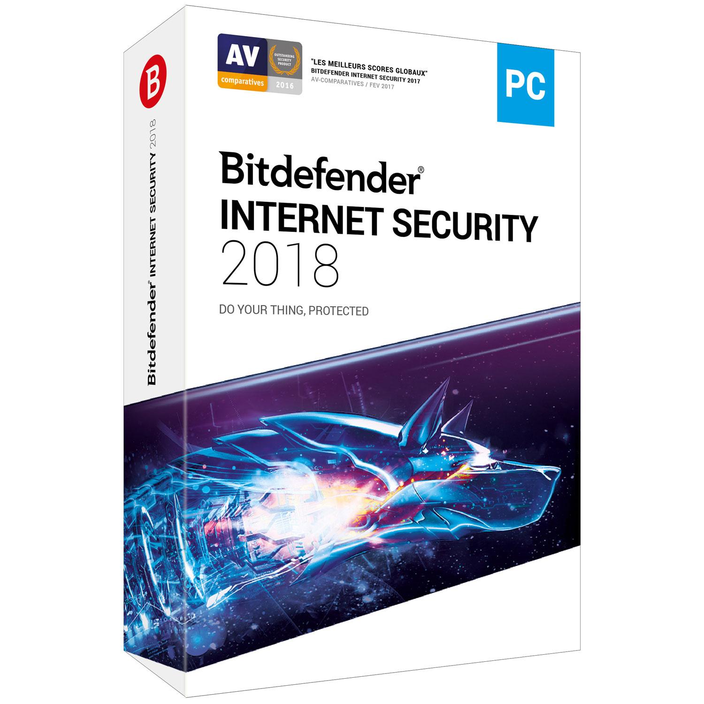 bitdefender internet security 2018 licence 2 ans 5 postes logiciel s curit bitdefender sur. Black Bedroom Furniture Sets. Home Design Ideas