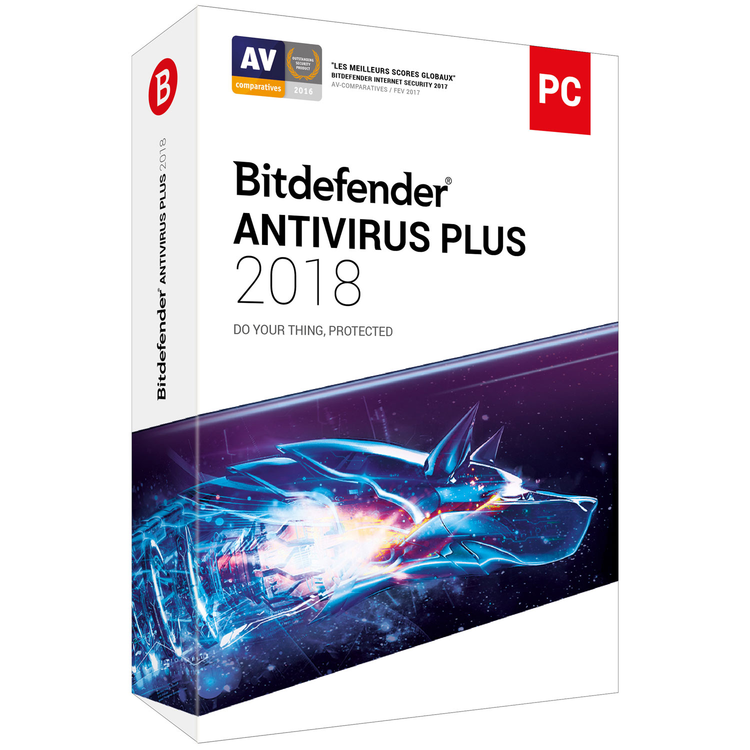 bitdefender antivirus plus 2018 1 an 1 poste logiciel s curit bitdefender sur. Black Bedroom Furniture Sets. Home Design Ideas