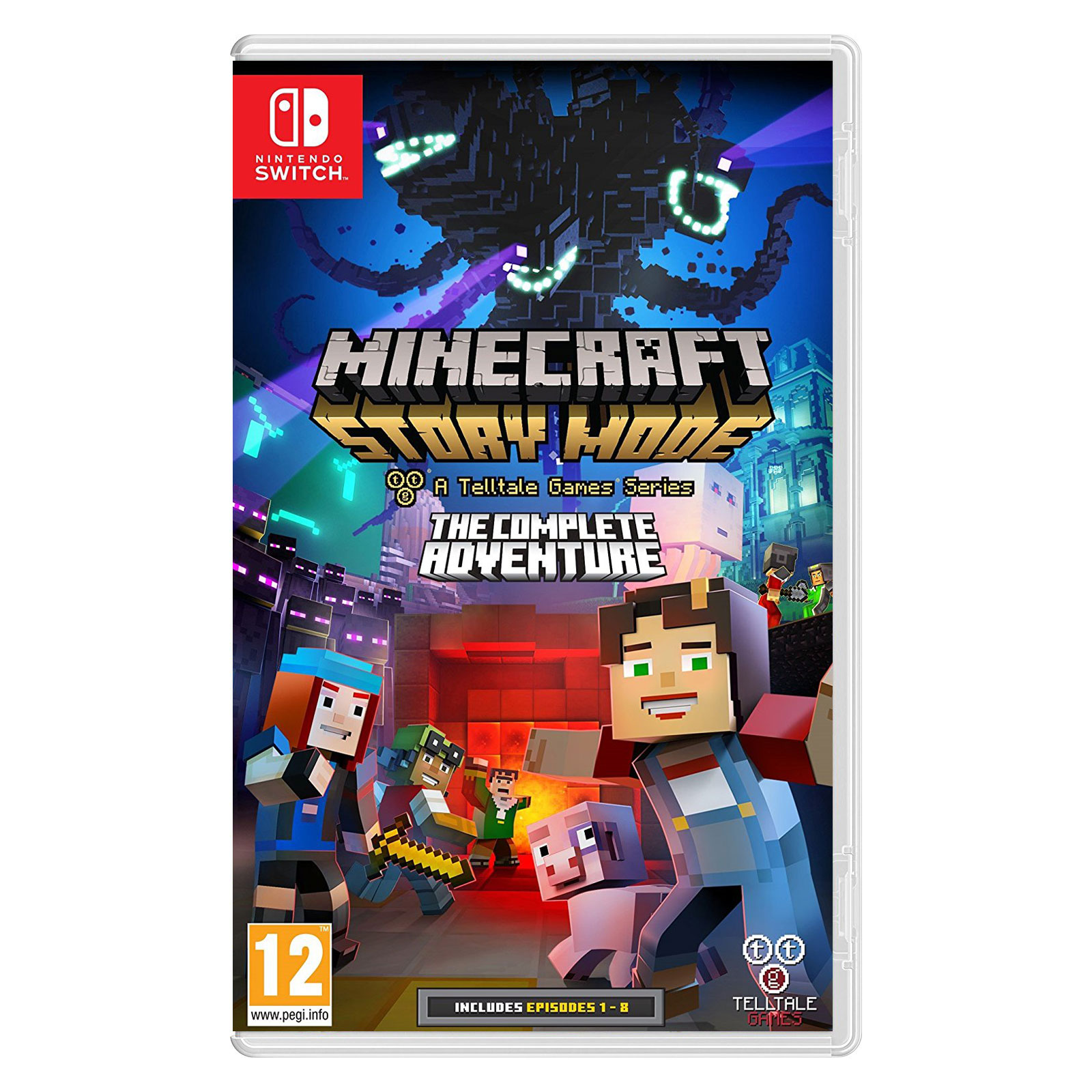 Jeux Nintendo Switch Minecraft : Story Mode (Switch) Minecraft : Story Mode (Switch)