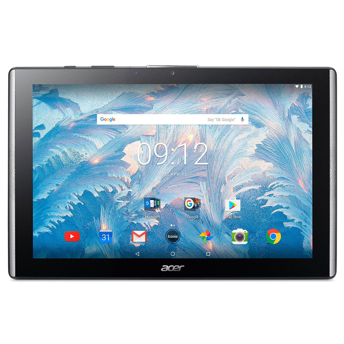 acer iconia one 10 b3 a40fhd k1me noir tablette tactile acer sur. Black Bedroom Furniture Sets. Home Design Ideas