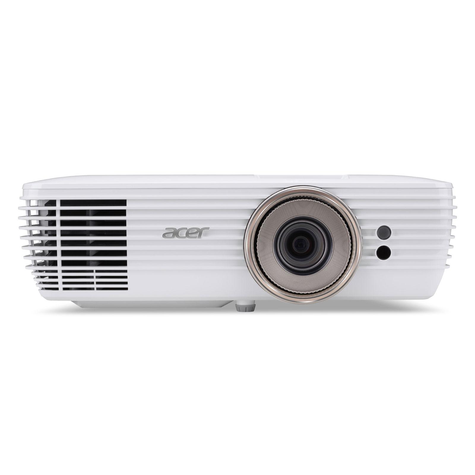 Vidéoprojecteur Acer V7850 Vidéoprojecteur 4K UHD - DLP - 2200 ANSI Lumens - HDR - Lens Shift - HDMI 2.0 - HDCP 2.2 - Ethernet