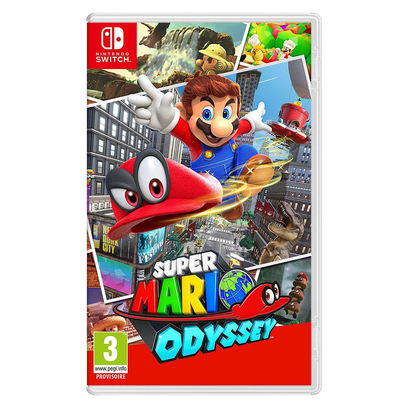 Jeux Nintendo Switch Super Mario Odyssey (Switch) Super Mario Odyssey (Switch)