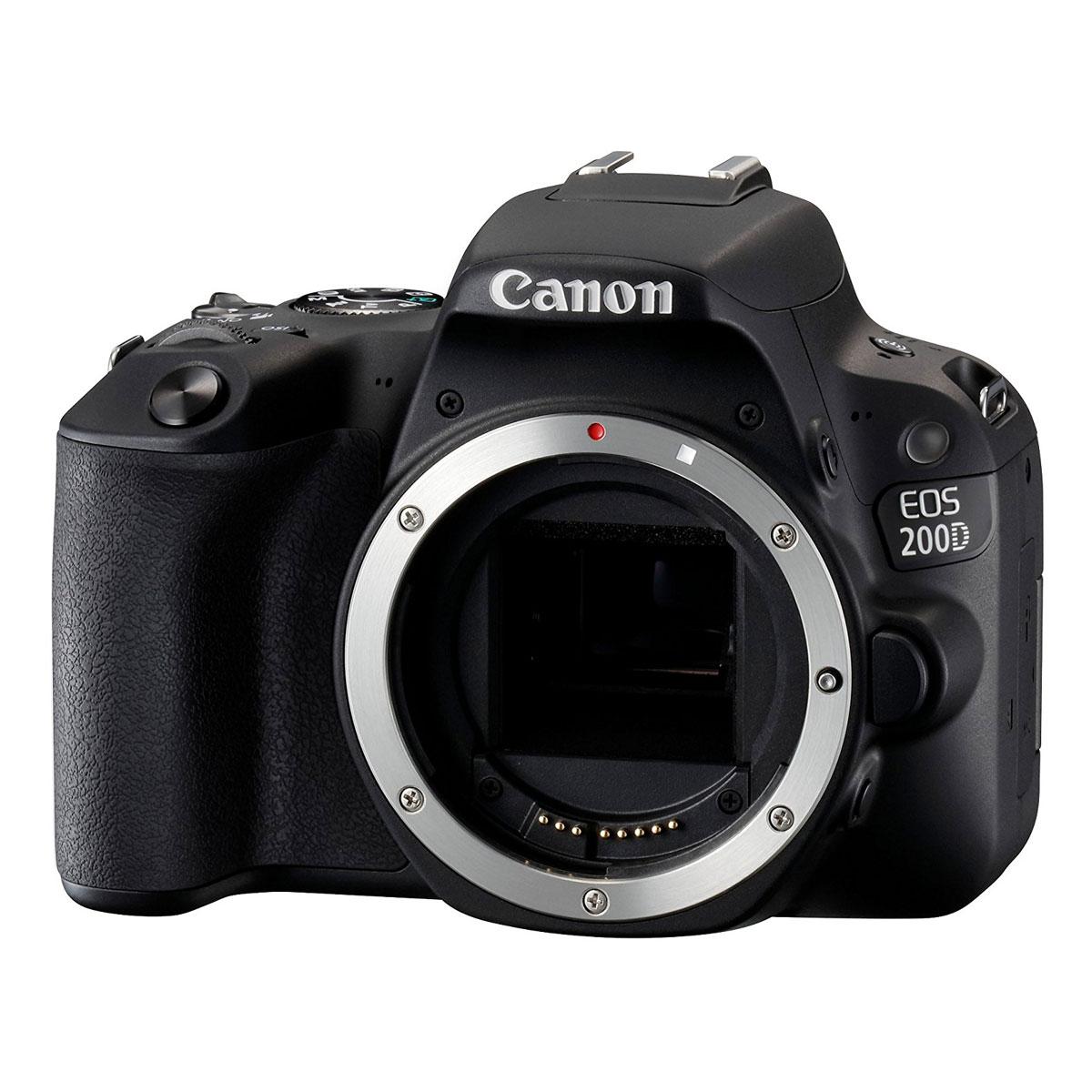 canon eos 200d appareil photo reflex canon sur. Black Bedroom Furniture Sets. Home Design Ideas