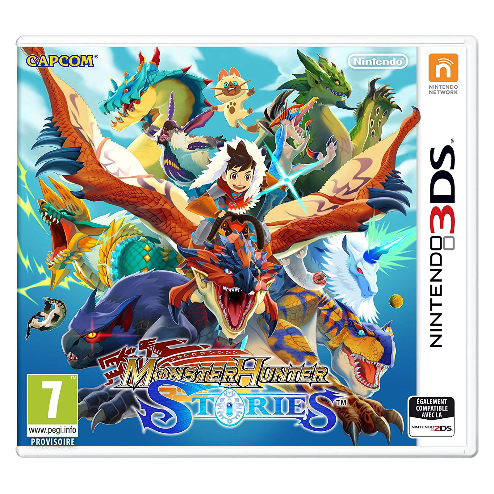 monster hunter stories nintendo 3ds 2ds jeux nintendo 3ds capcom sur. Black Bedroom Furniture Sets. Home Design Ideas