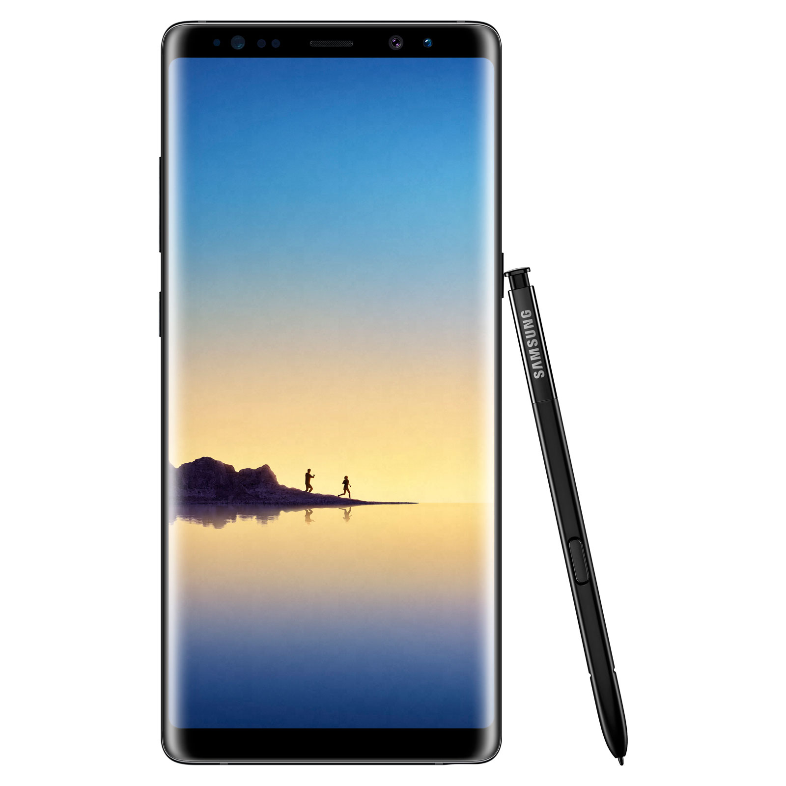 "Mobile & smartphone Samsung Galaxy Note 8 SM-N950 Noir 64 Go Smartphone 4G-LTE Advanced IP68 - Exynos 8895 8-Core 2.3 Ghz - RAM 6 Go - Ecran tactile 6.3"" 1440 x 2960 - 64 Go - NFC/Bluetooth 5.0 - 3300 mAh - Android 7.1"