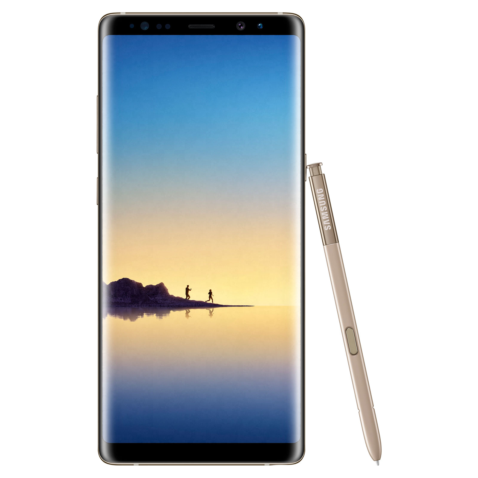"Mobile & smartphone Samsung Galaxy Note 8 SM-N950 Or 64 Go Smartphone 4G-LTE Advanced IP68 - Exynos 8895 8-Core 2.3 Ghz - RAM 6 Go - Ecran tactile 6.3"" 1440 x 2960 - 64 Go - NFC/Bluetooth 5.0 - 3300 mAh - Android 7.1"