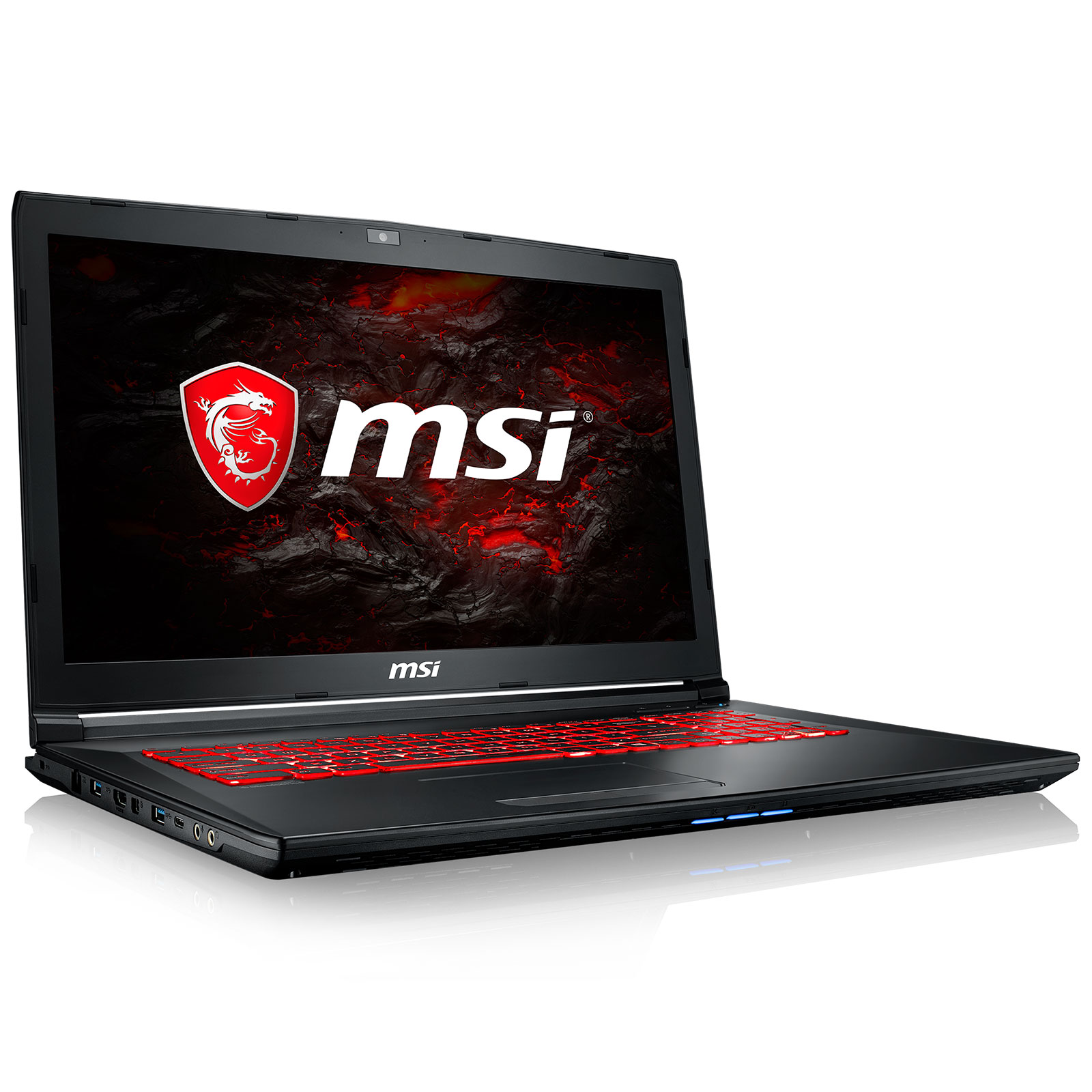 "PC portable MSI GL72M 7RDX-1472XFR Intel Core i5-7300HQ 8 Go 1 To 17.3"" LED Full HD NVIDIA GeForce GTX 1050 2 Go Wi-Fi AC/Bluetooth Webcam FreeDOS (garantie constructeur 2 ans)"