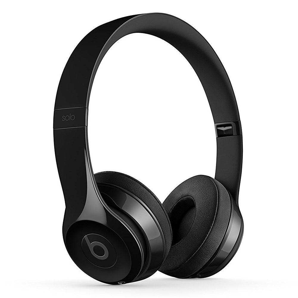 beats solo 3 wireless noir brillant casque beats by dr. Black Bedroom Furniture Sets. Home Design Ideas
