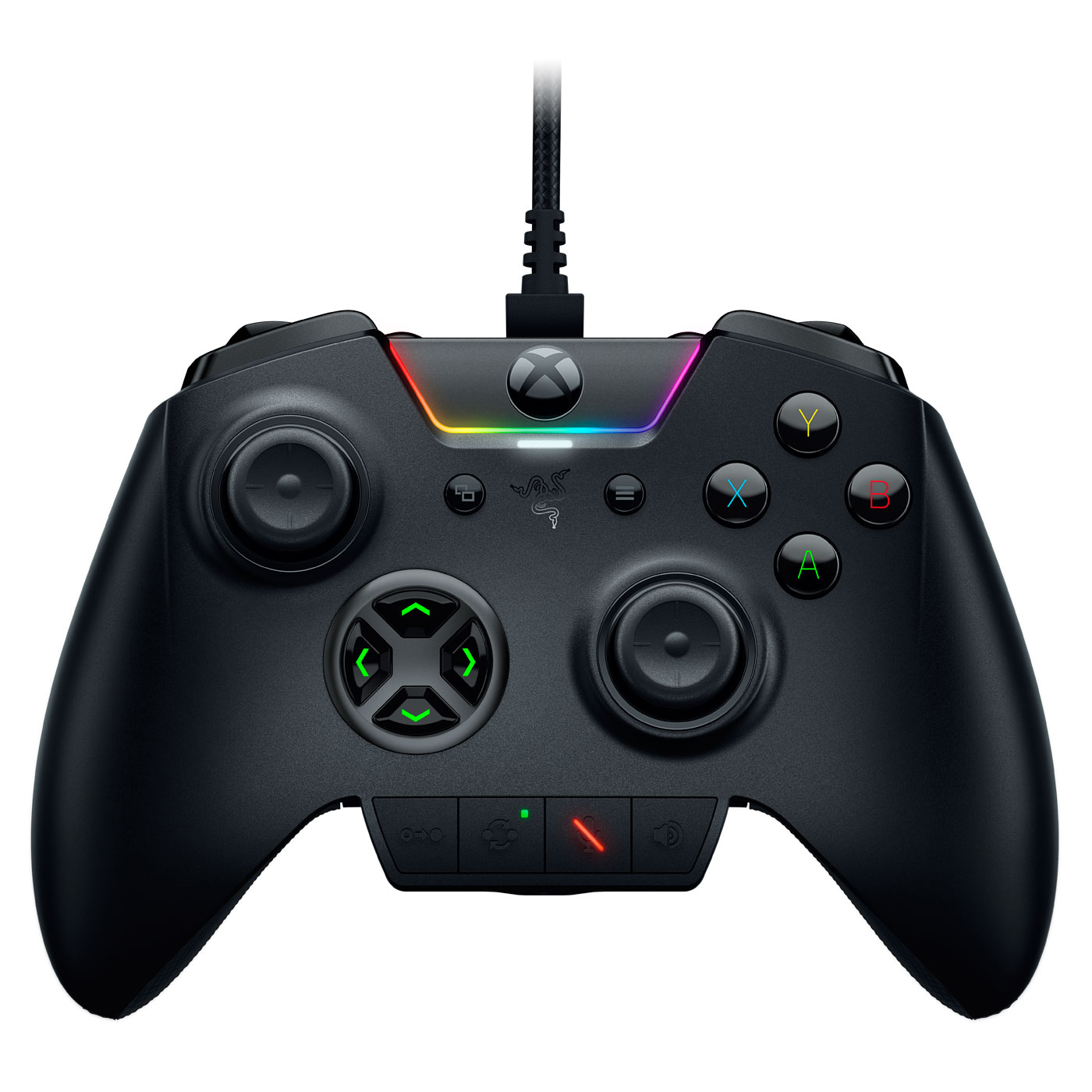 Joypad Razer Wolverine Ultimate Manette personnalisable avec éclairage Chroma (compatible Xbox One / PC)
