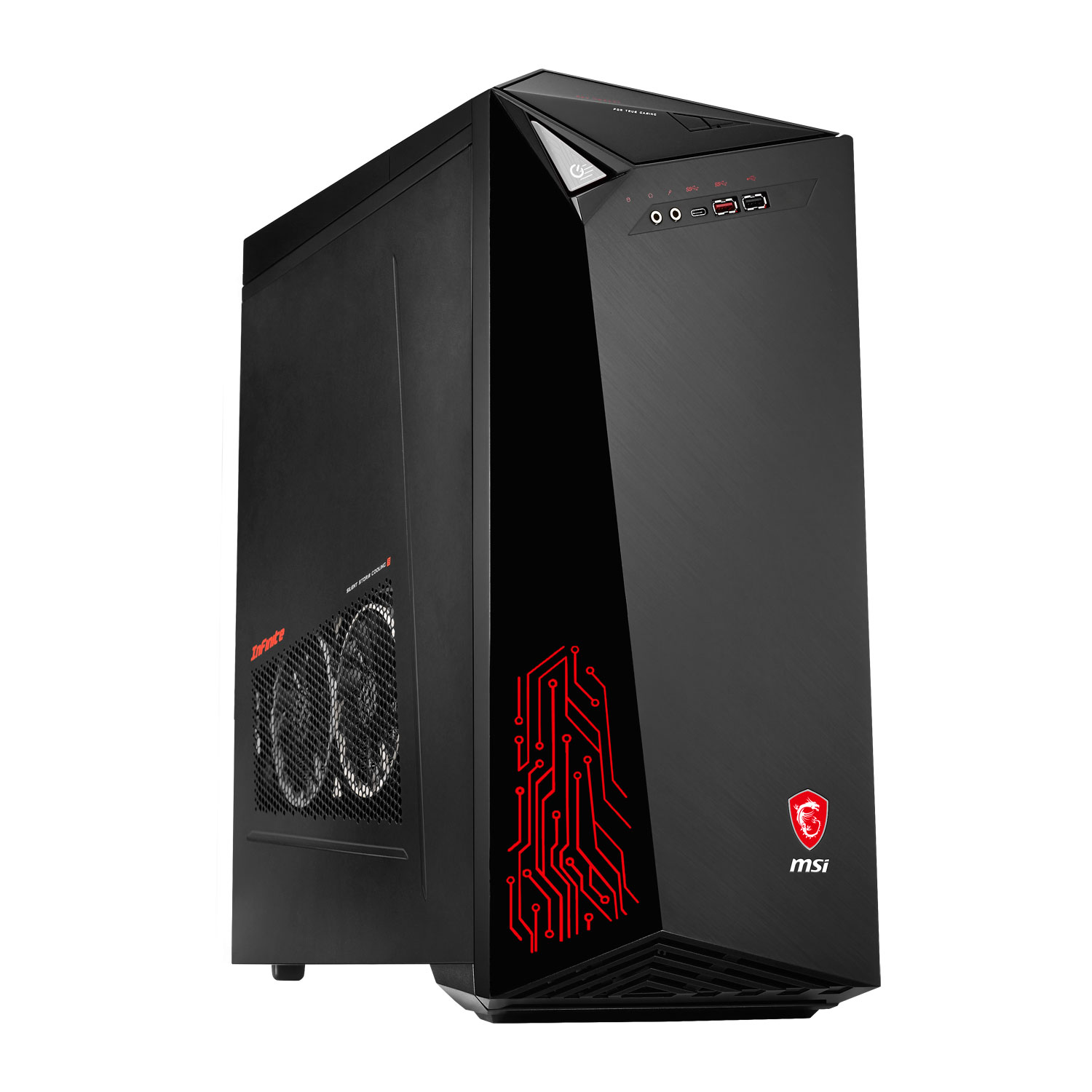 msi infinite 7rb 012eu pc de bureau msi sur. Black Bedroom Furniture Sets. Home Design Ideas
