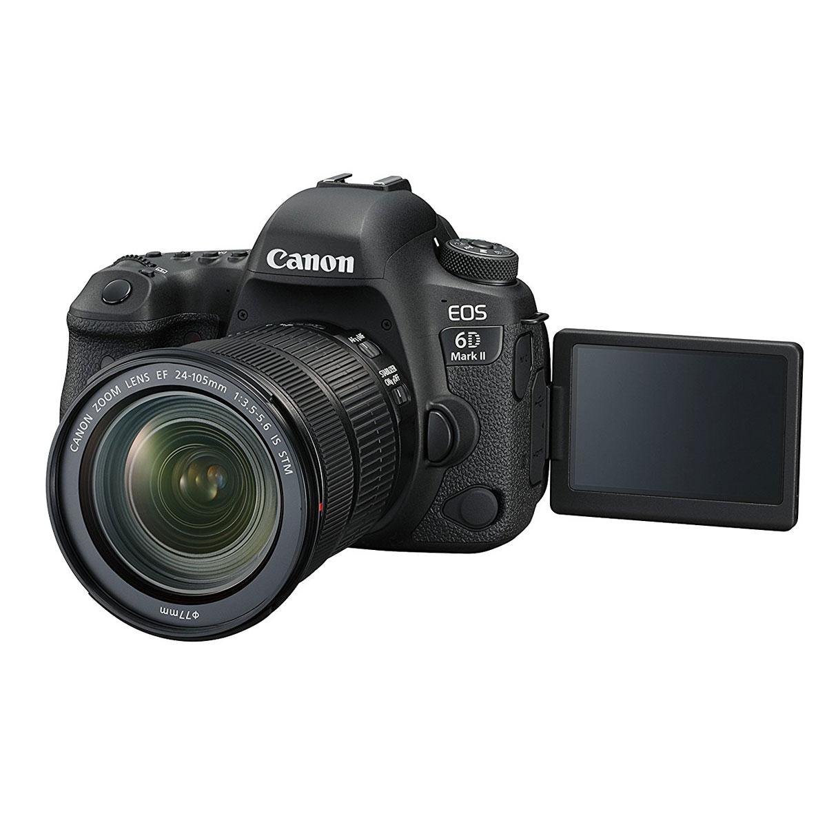 canon eos 6d mark ii 24 105 is stm appareil photo reflex canon sur. Black Bedroom Furniture Sets. Home Design Ideas