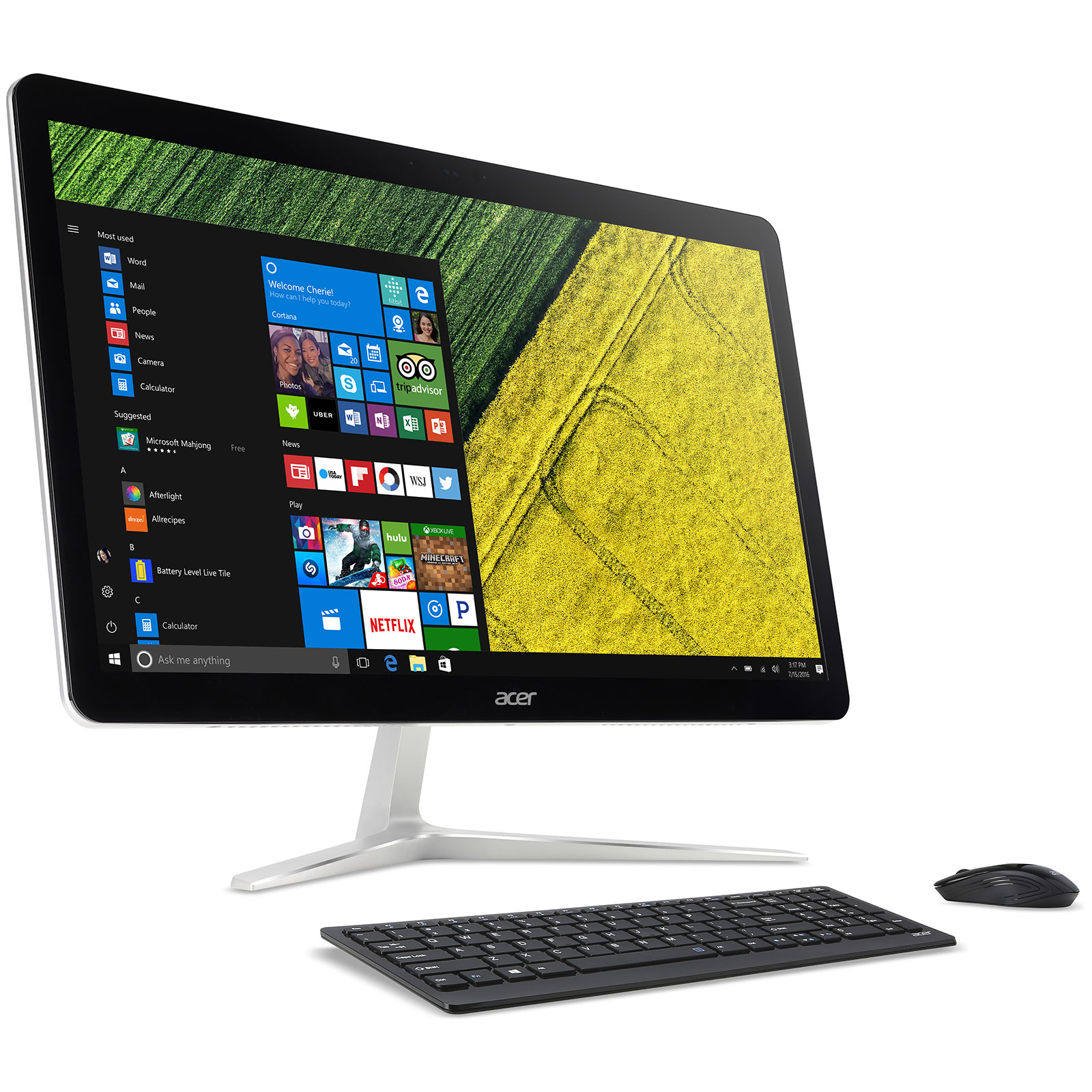 acer aspire u27 880 dq pc de bureau acer sur. Black Bedroom Furniture Sets. Home Design Ideas