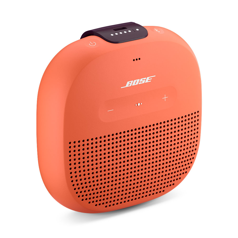 bose soundlink micro orange dock enceinte bluetooth. Black Bedroom Furniture Sets. Home Design Ideas