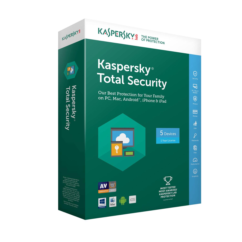 kaspersky total security 2018 licence 5 postes 1 an. Black Bedroom Furniture Sets. Home Design Ideas