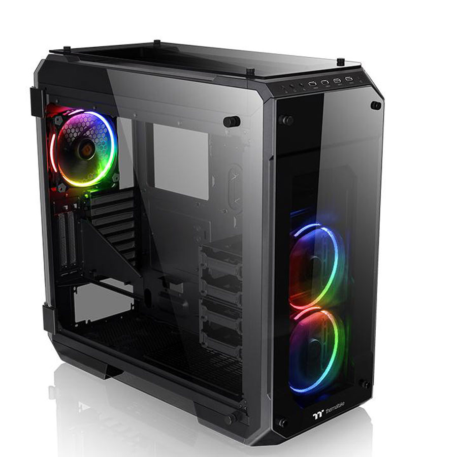 thermaltake view 71 tg rgb bo tier pc thermaltake sur. Black Bedroom Furniture Sets. Home Design Ideas