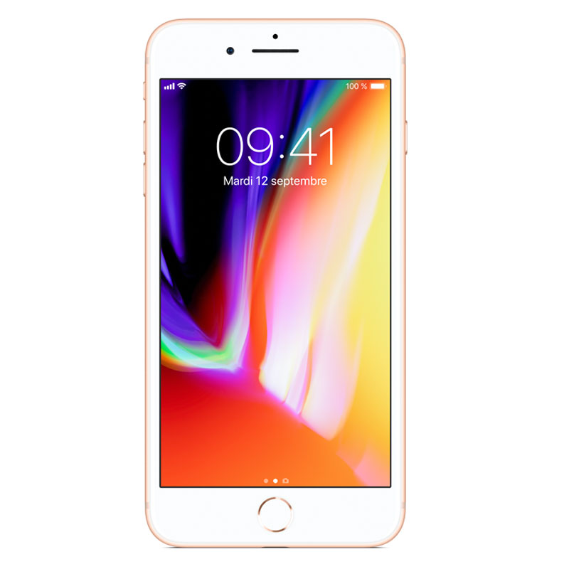 "Mobile & smartphone Apple iPhone 8 Plus 256 Go Or Smartphone 4G-LTE Advanced IP67 - Apple A11 Bionic Hexa-Core - RAM 3 Go - Ecran Retina 5.5"" 1080 x 1920 - 256 Go - NFC/Bluetooth 5.0 - iOS 11"