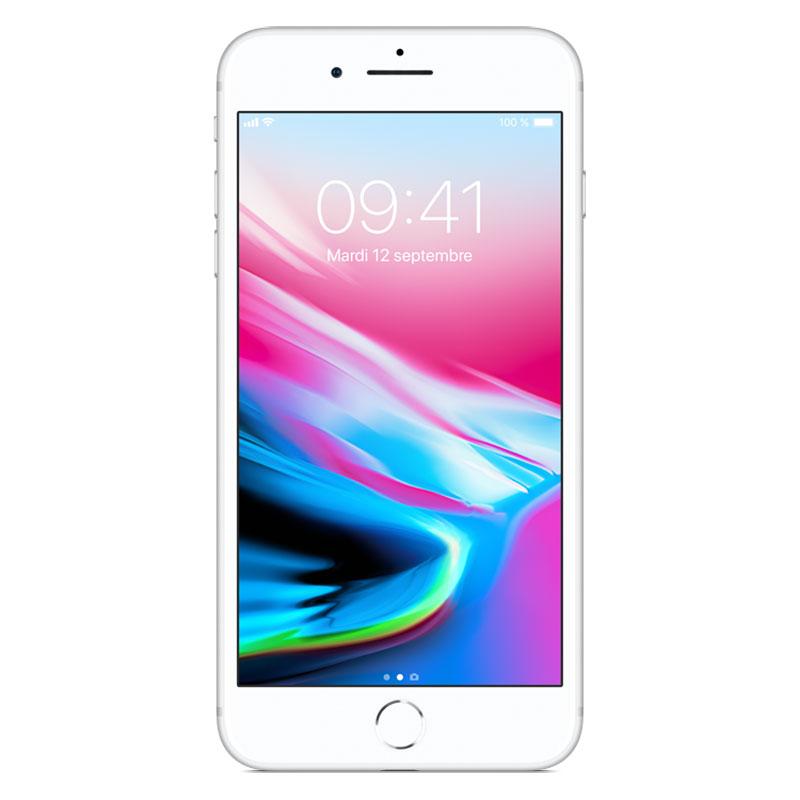 "Mobile & smartphone Apple iPhone 8 Plus 256 Go Argent Smartphone 4G-LTE Advanced IP67 - Apple A11 Bionic Hexa-Core - RAM 3 Go - Ecran Retina 5.5"" 1080 x 1920 - 256 Go - NFC/Bluetooth 5.0 - iOS 11"