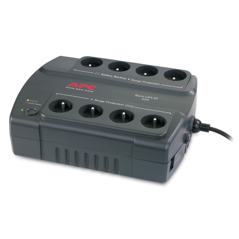 Onduleur APC Back-UPS ES 400VA (BE400-FR) Onduleur off-line monophasés 230V