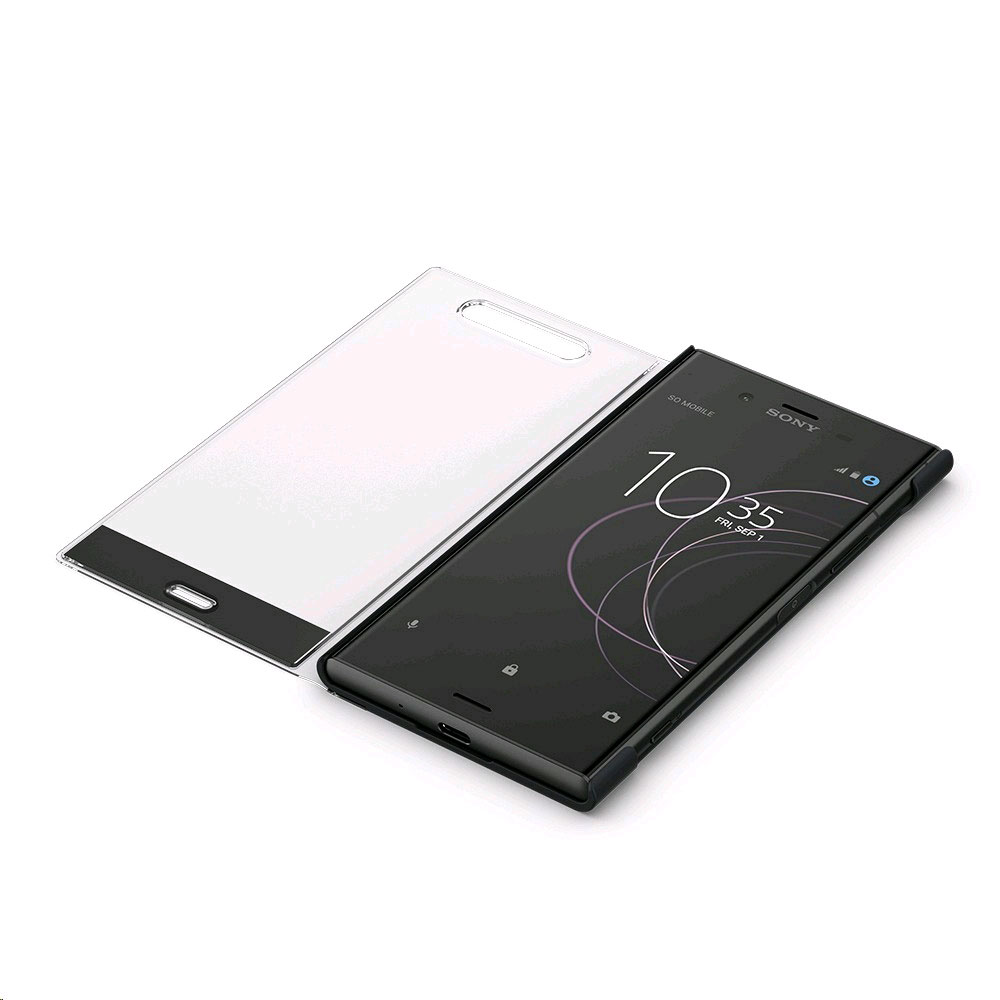 sony style cover touch sctg50 noir sony xperia xz1 etui t l phone sony sur. Black Bedroom Furniture Sets. Home Design Ideas