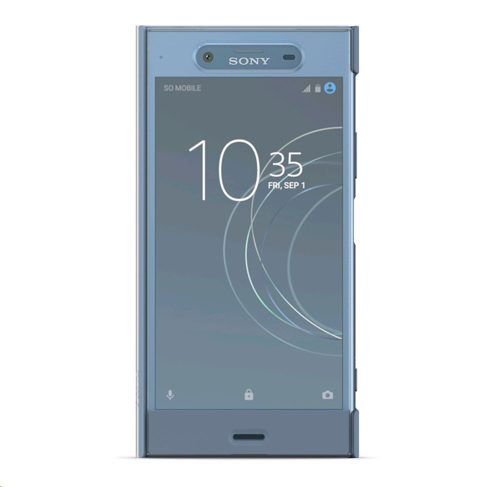 sony style cover touch sctg50 bleu gris sony xperia xz1 etui t l phone sony sur. Black Bedroom Furniture Sets. Home Design Ideas