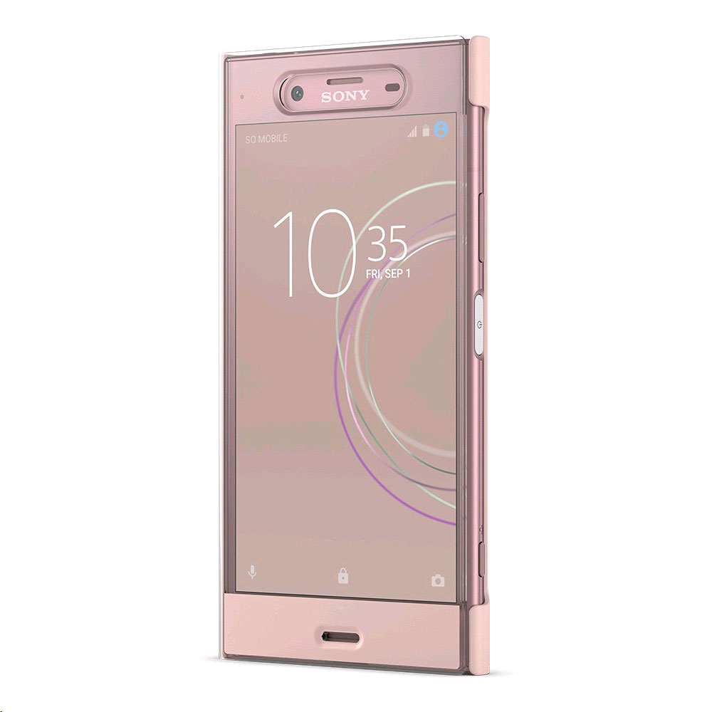 sony style cover touch sctg50 rose sony xperia xz1 etui t l phone sony sur. Black Bedroom Furniture Sets. Home Design Ideas