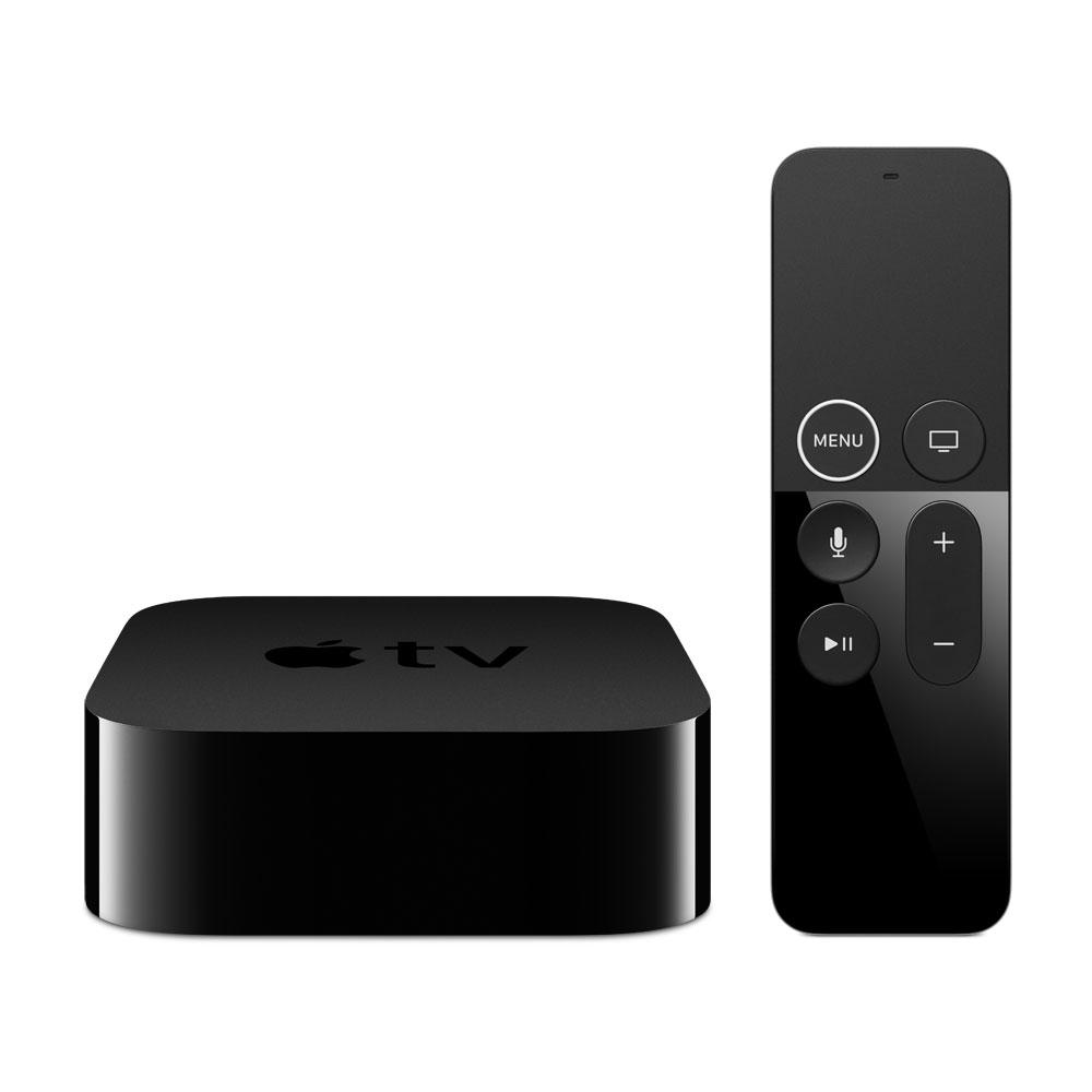 Lecteur multimédia Apple TV 4K 32 Go (MQD22FD/A) Lecteur multimédia Haute Définition 4K HDR 32 Go Wi-Fi Bluetooth AirPlay et Siri Remote