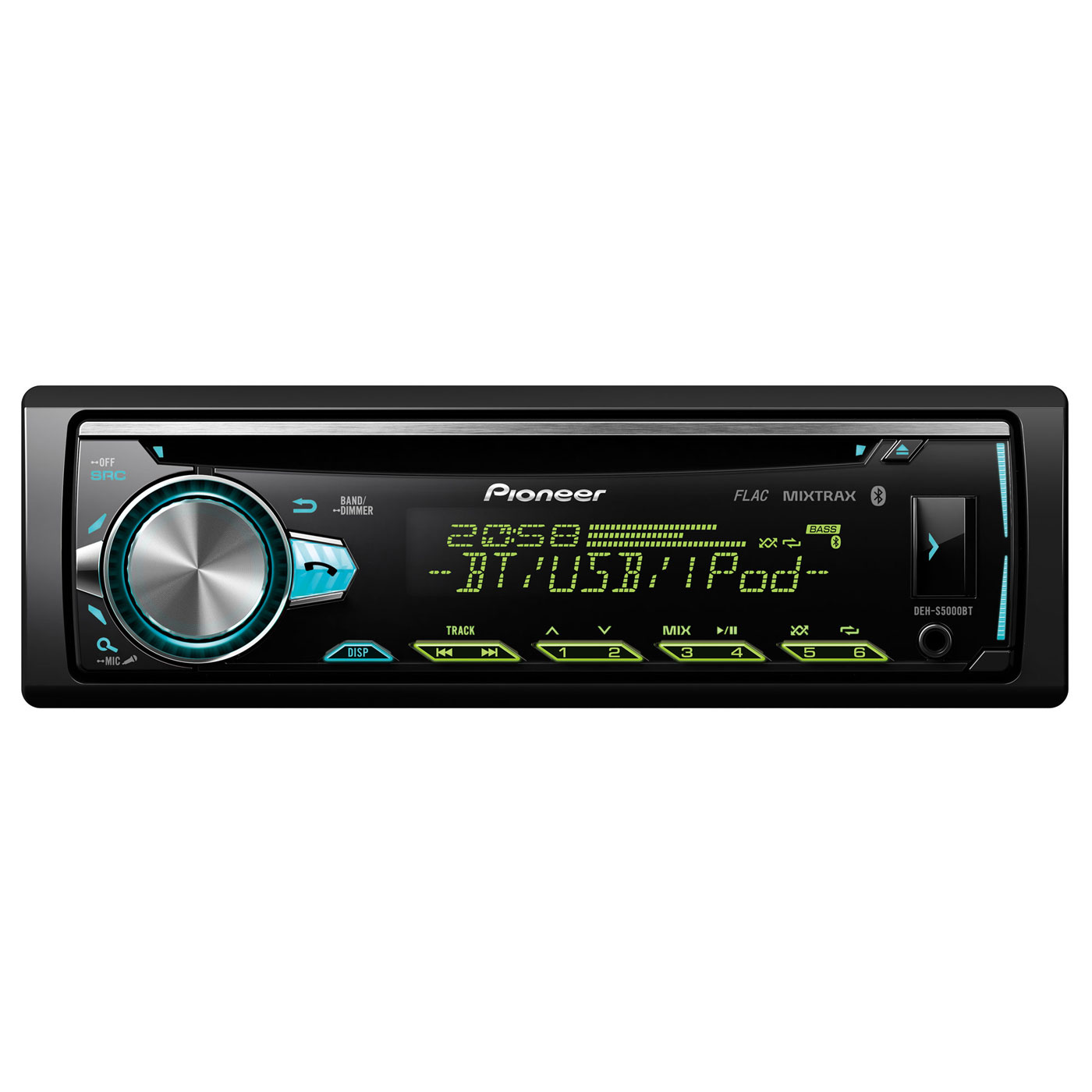 pioneer deh s5000bt autoradio pioneer sur. Black Bedroom Furniture Sets. Home Design Ideas