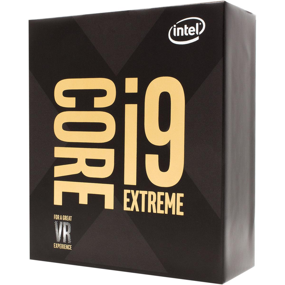 Processeur Intel Core i9-7980XE Extreme Edition (2.6 GHz) Processeur 18-Core Socket 2066 Cache L3 24.75 Mo 0.014 micron TDP 165W (version boîte sans ventilateur - garantie Intel 3 ans)