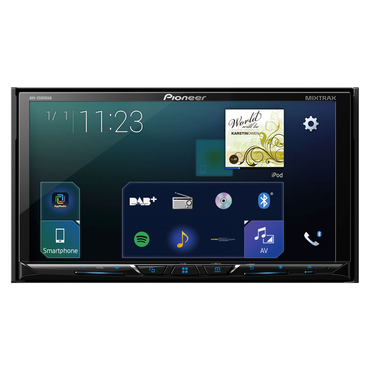 pioneer avh z5000dab autoradio pioneer sur. Black Bedroom Furniture Sets. Home Design Ideas