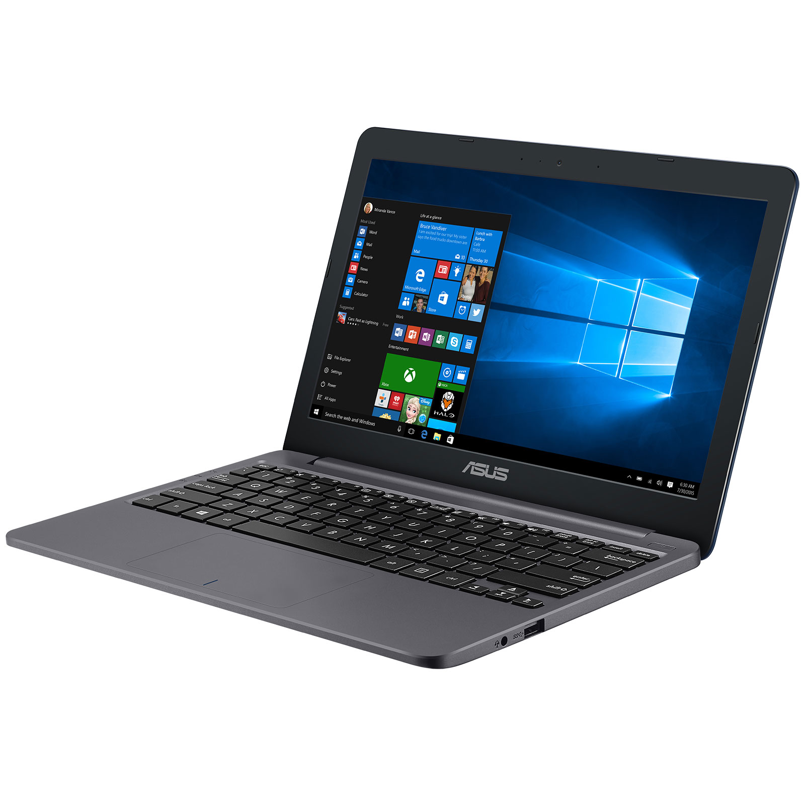 asus vivobook e12 e203na fd035t pc portable asus sur. Black Bedroom Furniture Sets. Home Design Ideas