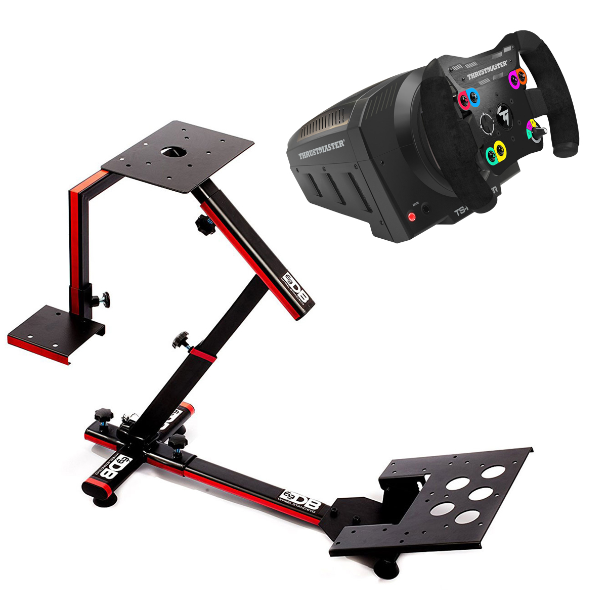 thrustmaster ts pc racer 69db wheel stand evo volant. Black Bedroom Furniture Sets. Home Design Ideas
