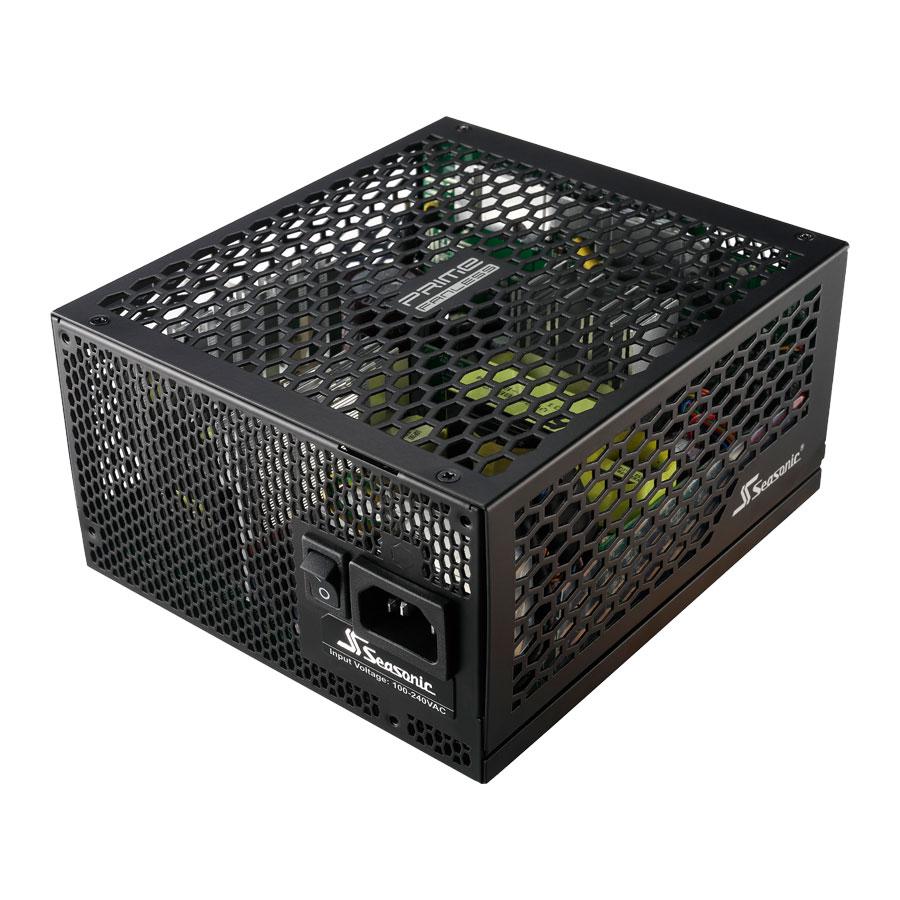 Alimentation PC Seasonic PRIME 600 W Fanless Titanium Alimentation modulaire 600W ATX 12V/EPS 12V sans ventilateur - 80PLUS Titanium
