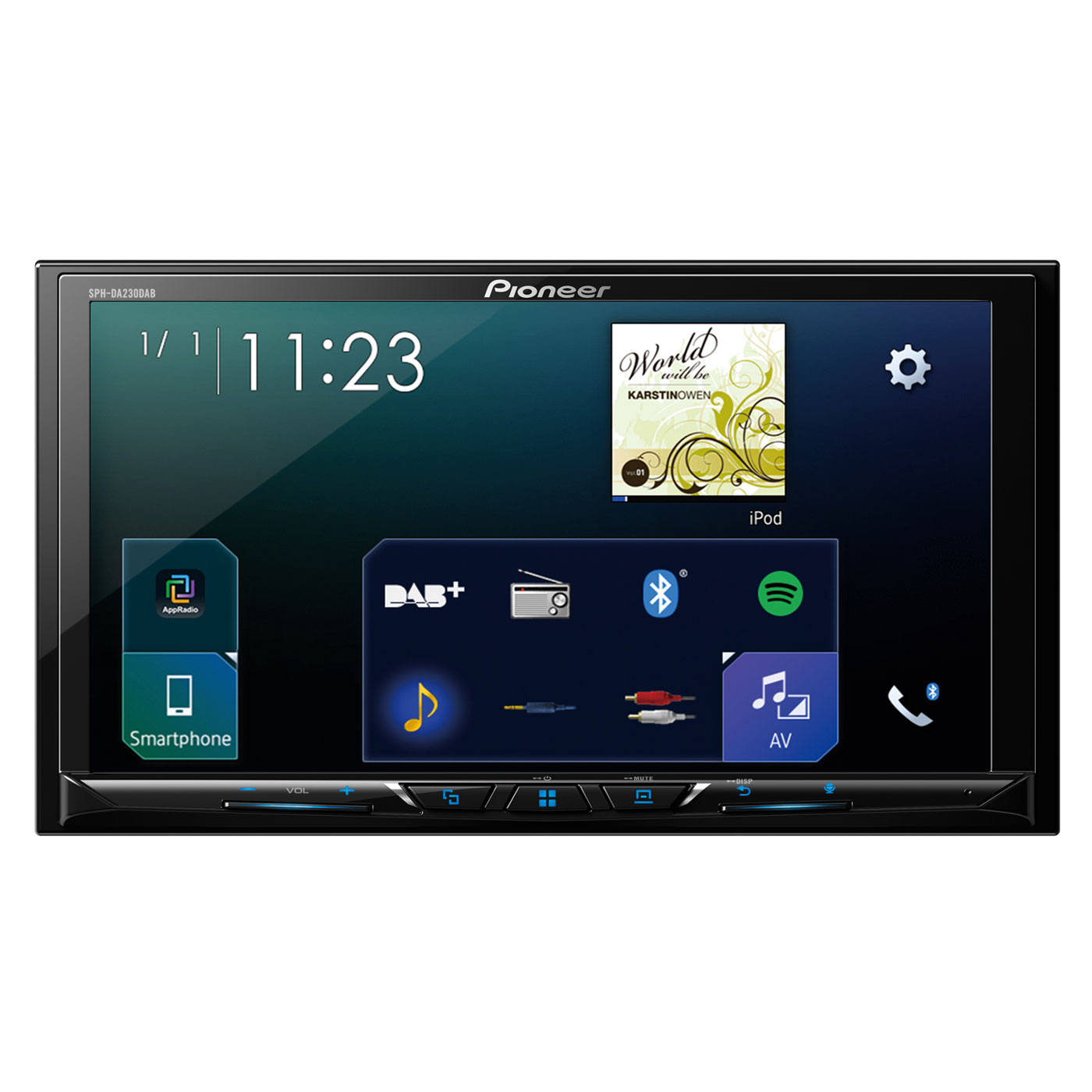 pioneer sph da230dab autoradio pioneer sur. Black Bedroom Furniture Sets. Home Design Ideas