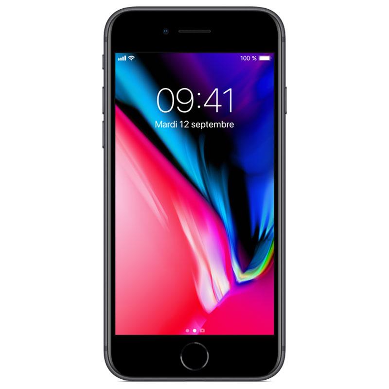 "Mobile & smartphone Apple iPhone 8 256 Go Gris Sidéral Smartphone 4G-LTE Advanced IP67 - Apple A11 Bionic Hexa-Core - RAM 2 Go - Ecran Retina 4.7"" 750 x 1334 - 256 Go - NFC/Bluetooth 5.0 - iOS 11"