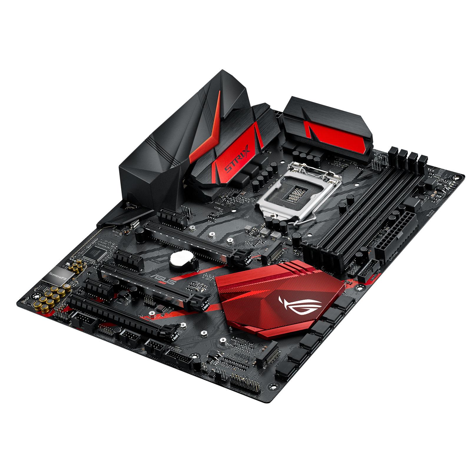 Carte mère ASUS ROG STRIX Z370-H GAMING Carte mère ATX Socket 1151 Intel Z370 Express - 4x DDR4 - SATA 6Gb/s + M.2 - USB 3.1 - 3x PCI-Express 3.0 16x