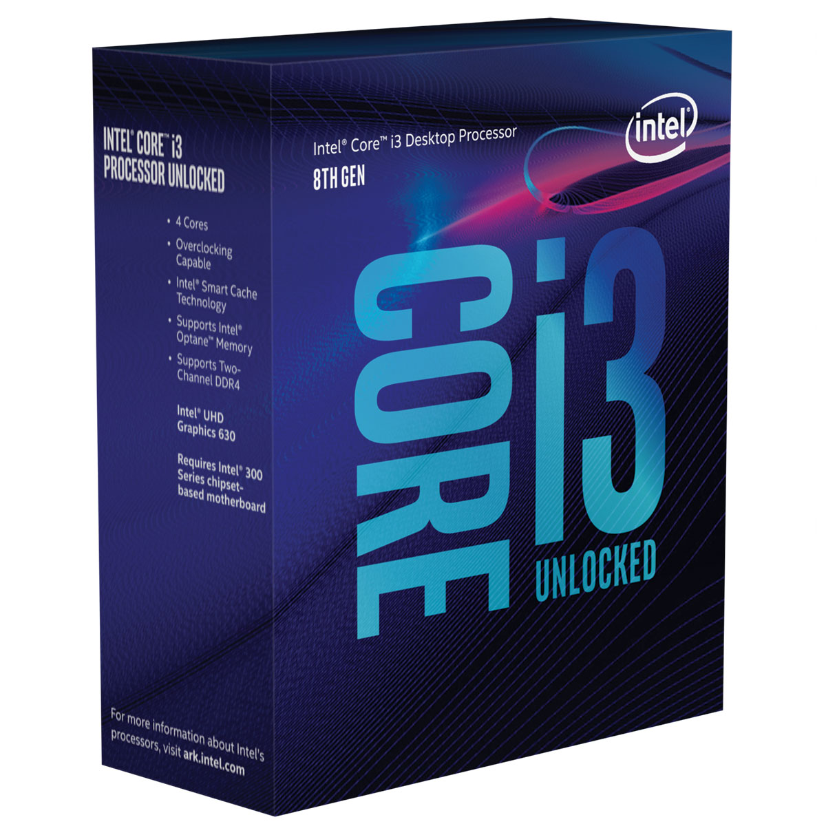 intel core i3 8350k 4 0 ghz processeur intel sur