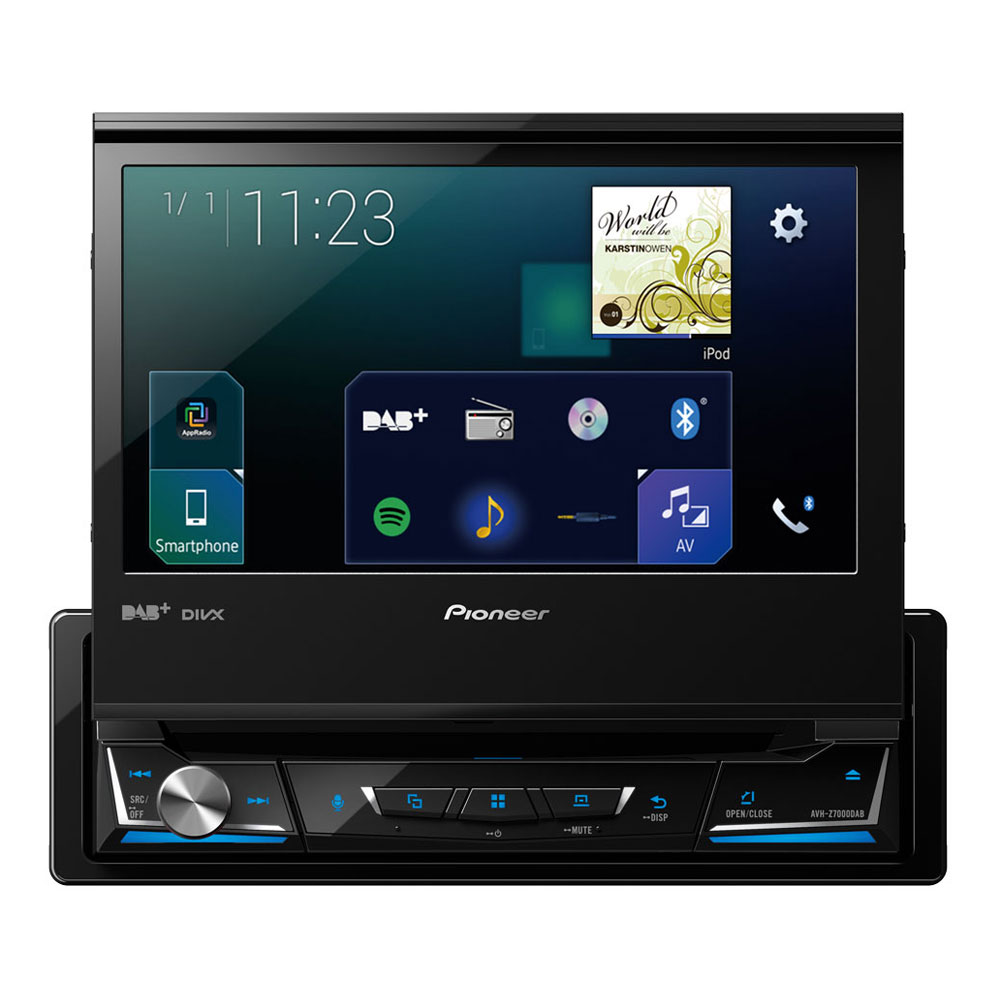 pioneer avh z7000dab autoradio pioneer sur. Black Bedroom Furniture Sets. Home Design Ideas