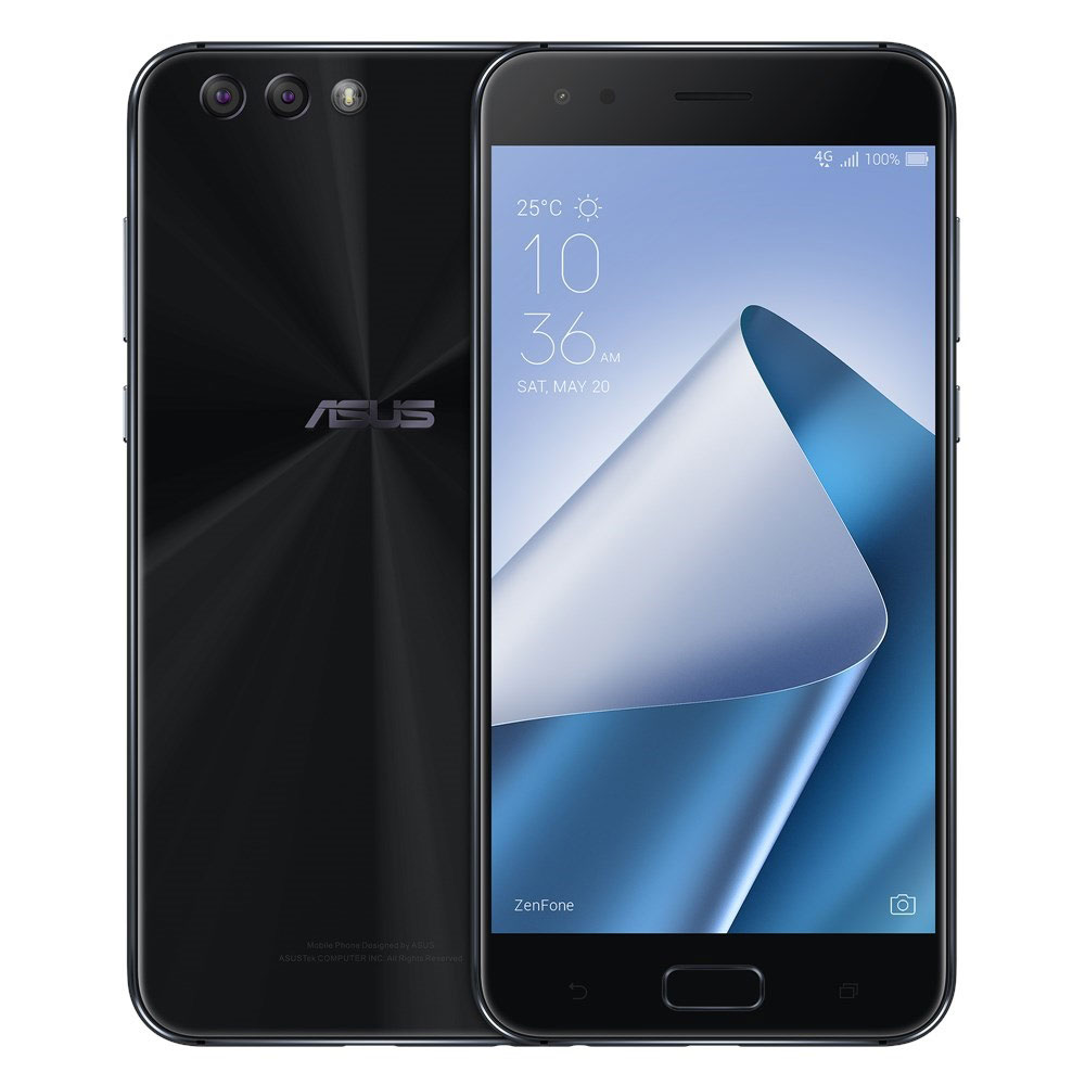 asus zenfone 4 ze554kl noir mobile smartphone asus sur. Black Bedroom Furniture Sets. Home Design Ideas